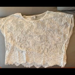 white blouse from forever 21